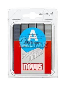 NOVUS ZSZYWKI A TYP 53/10 mm 042-0518 SUPERTWARDE 5000PC - 2822055945