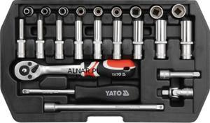 YATO ZESTAW NARZĘDZIOWY XS 1/4 CALA 23PC YT-1445 - 2822057097