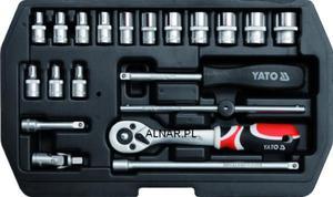 YATO ZESTAW NARZĘDZIOWY XS 1/4 CALA 20PC YT-1449 - 2822057101