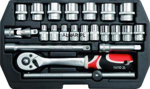 YATO ZESTAW NARZĘDZIOWY XS 3/8 CALA 22PC YT-3856 - 2822057103
