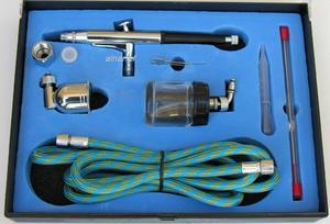 ADLER AD-7734 AEROGRAF 0.2/0.3/0.5mm - ZESTAW 0256.5 - 2822057665