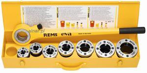 """REMS EVA SET 1/2""""-3/4""""-1""""-1i1/4"""" GWINTOWNICA RĘCZNA - 2822048756"""