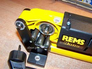 REMS NANO BASIC-PACK ELEKTRYCZNY OBCINAK DO RUR - 2822048769