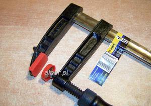 DREL ŚCISK STOLARSKI SKRĘCANY TYP F 80x300 DIN5117 - 2822053959