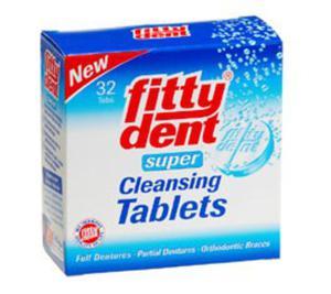 FITTYDENT tabletki do czyszczenia protez i aparatów ortodontycznych 32 szt. - 1892274771