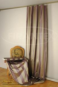 Tkanina zasłonowa PARK/306 - kolor fioletowo-beżowy - 2832755575