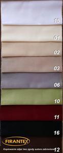 Tkanina zasłonowa RICA / wys 280cm / kolor 12 - brązowy - 12 - 2837975605