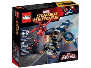 LEGO Super Heroes 76036 Atak Carnage'a - 2859896974