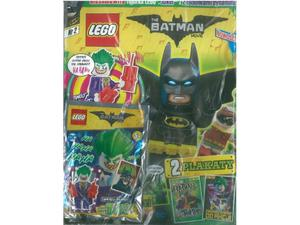 LEGO Batman Movie 416193 magazyn nr 2/2017 + Joker z 2  - 2859898173