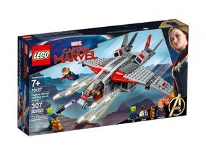 LEGO 76127 Super Heroes Kapitan Marvel i atak Skru - 2852551533