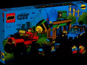 LEGO 40031760 Pojemnik na klocki 2x2 pomarańczowy - 2852551757