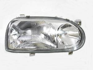 Reflektor prawy H1+H1 VW Golf III (Tyc) - 2010336248