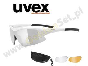 Okulary Uvex SGL 103 8816 + dwa dodatkowe zestawy soczewek - 2823103171