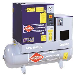 Kompresor śrubowy 320 l/min APS 4 BASIC COMBI DRY AIRPRESS 36954 - 2845408902