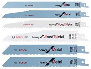 Zestaw brzeszczotów do pił szablastych do drewna i metalu 6 szt. Bosch 2 607 010 907 - 2850312232