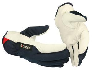 Rękawice robocze GUIDE 30 r. 10 ze skóry koźlęcej - 2852531163