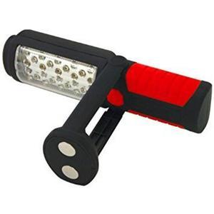 Lampa warsztatowa 28+5 LED na uchylnej manetycznej podstawie CTL00161 - 2856036498