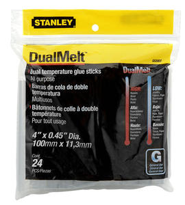 STANLEY KLEJ DO PISTOLETÓW 11x100mm 24PC DualMelt 1-GS20DT - 2832723232
