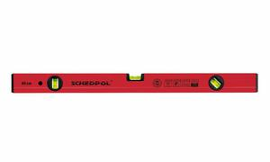 SCHEDPOL poziomica czerwona 200cm 3 libelle PCK200 - 2832723291