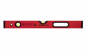 SCHEDPOL poziomica czerwona PROFESIONAL 60cm 2 libelle PCP60 - 2832723313