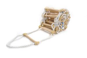 Drabina sznurowa, dekarska 6 mb - 2832721726