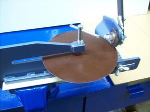 Nożyce krążkowe NK-1 + przystawka do wycinania kół - 2832721595