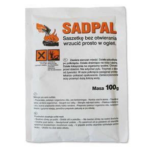 Katalizator do spalania SADPAL saszetka 100g - do kominków - 2832722387