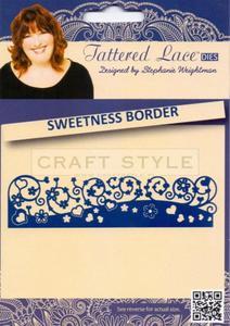 Wykrojnik Tattered Lace - Sweetness Border - 2822744500