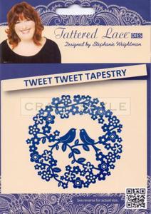 Wykrojnik Tattered Lace - Tweet Tweet Tapestry - 2822744502