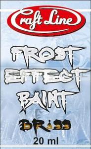"""Frost Effect Paint 20ml (brass) - Farba """"Efekt Szronu"""" (mosiądz) - 2850603713"""