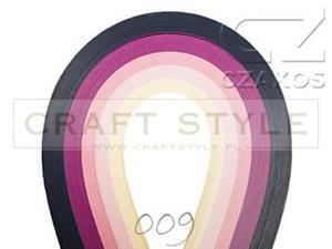 Paski do quillingu 3mm MIX-09 (200szt) - 2852805143