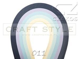 Paski do quillingu 3mm MIX-11 (200szt) - 2852805145