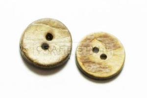 Guzik ręcznie robiony ?15mm UNIKAT- 2szt - 2822742979