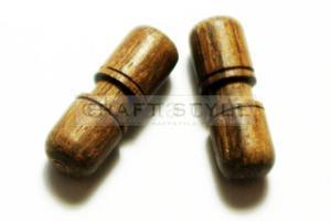 Guzik ręcznie robiony ?30mm UNIKAT- 2szt - 2822742981