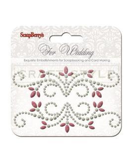 Dekoracja kryształki For Wedding - 2856552994