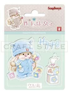 Stempel ScrapBerry`s - Bunny My Little Star - Bunny Birthday - 2856552996