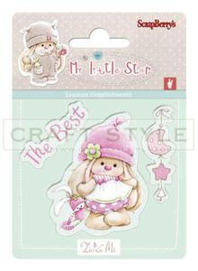 Stempel ScrapBerry`s - Bunny My Little Star - Best Bunny - 2856552997