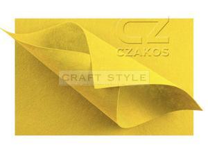 Filc 30x40cm gr 2mm CYTRYNOWY - 2863982402