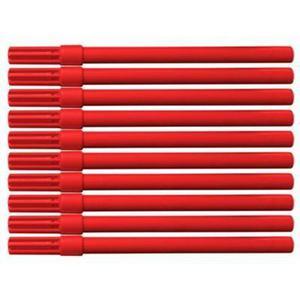 Flamaster biurowy OFFICE PRODUCTS, 10szt., czerwony - 2859690410