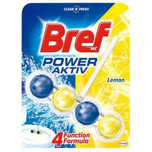 Kulki toaletowe BREF Power Aktiv Lemon, 50g - 2862576699