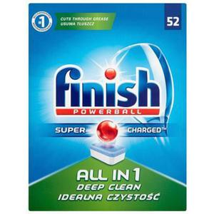 Tabletki do zmywarki FINISH All-in-one Powerball, 52szt., regular - 2859690783