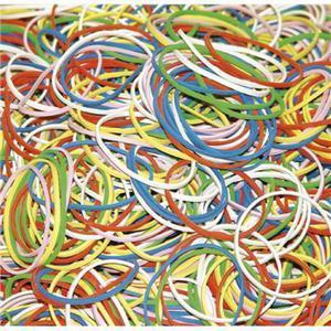 Gumki recepturki DONAU, 100g, mix kolorów