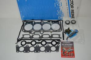 KOMPLET USZCZELEK GŁOWICY AUDI 1.8 20V 00- A3 A4 A6 TT komplet nie zawiera uszczelek rury wydechowej, usz.głow - 2833314599