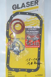 KOMPLET USZCZELEK BLOKU MITSUBISHI 1.9 motor F8QT CARISMA - 2833314686