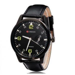 Męski sportowy modny zegarek analogowy datownik - 2824376304