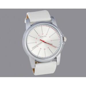 Biały sportowy klasyczny zegarek męski UNISEX pasek - 2824376330