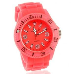 Kolorowy modny zegarek damski na lato - 2824376669