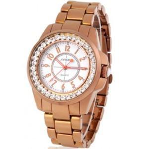 Sinobi Damski modny zegarek bransoleta kryszta - 2824377335
