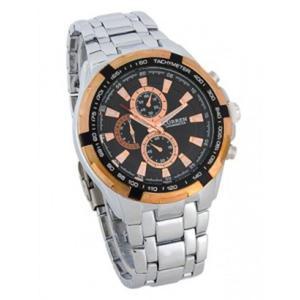 Zegarek męski kwarcowy bransoleta biznes styl - 2824377804