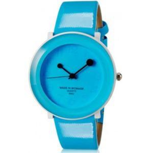 Kolorowy modny zegarek damski analogowy na lato (niebieski) - 2824376668